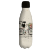 Bouteille isotherme 500ml Chat vélo