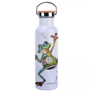 Bouteille isotherme avec anse 590ml - Grenouille