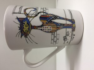 Mug GM Chat cambré