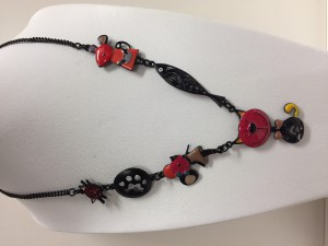 Collier Lolilota Chat rouge