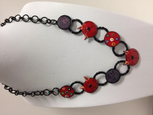 Collier Lolilota Matous rouges