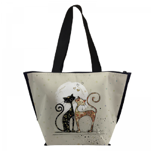 Lunch bag isotherme Chat amoureux