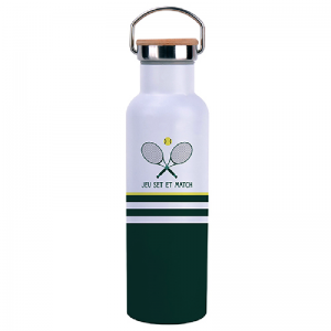 Bouteille isotherme avec anse 590ml - Tennis
